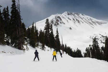 Loveland ski resort in Colorado. photo