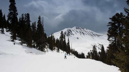 Loveland ski resort in Colorado.