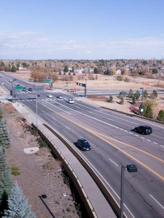 Road in suburb. Stock Photo - 9326949
