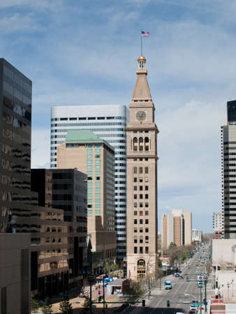 The Daniels & Fisher Tower is one of the landmarks of the Denver skyline. photo