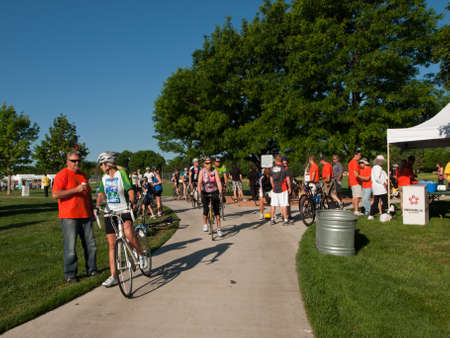 16th annual Goose Chase of Greenwood Village, Colorado. Family-oriented bike and walkrun event.