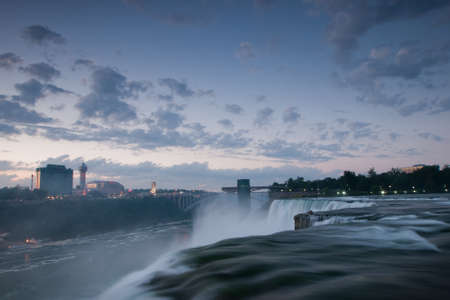 photo: Photo of Niagara Falls from the US side. Stock Photo
