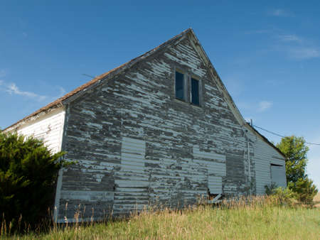 Abandoned farm house in Arriba, Colorado. Stock Photo - 10192233