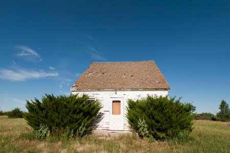 Abandoned farm house in Arriba, Colorado. Stock Photo - 10193038
