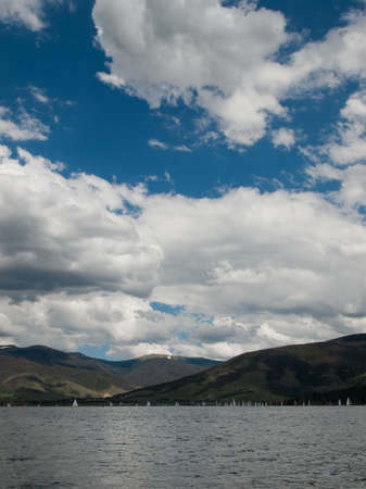 lake dillon: Lake Dillon, Colorado. Stock Photo
