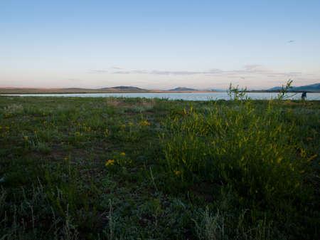 eleven mile reservoir: Sunrise at Eleven MIle Reservoir, Colorado. Editorial
