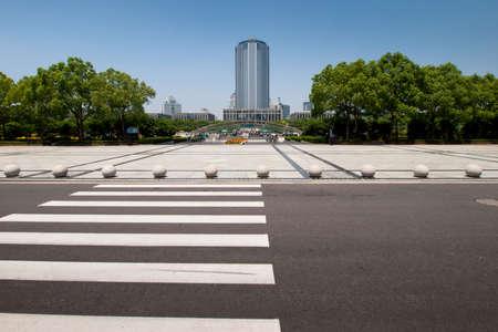 Pedestrian crossing.