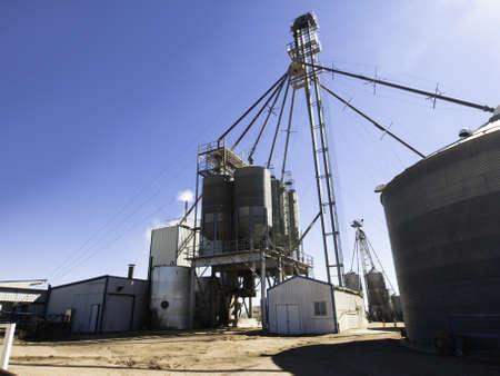 Diervoeding fabriek in het noorden van Colorado.