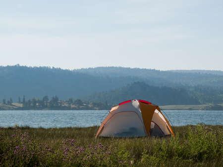 eleven mile reservoir: Camping at Eleven Mile Reservoir, Colorado.