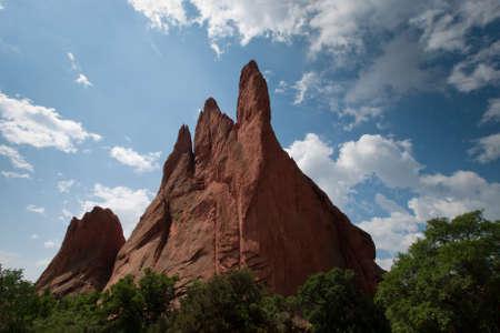 �rock formation�: Garden of the Gods Rock Formation in Colorado.