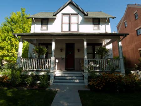 prospect: Maison dans le d�veloppement du nouvel urbanisme de projet Prospect � Longmont, dans le Colorado. Editeur
