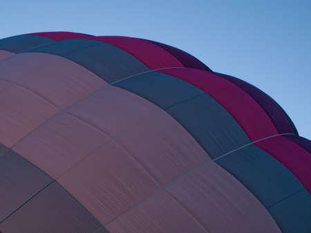 Ballons à air chaud dans un champ au cours d'un festival à Loveland, au Colorado. Banque d'images - 10604051