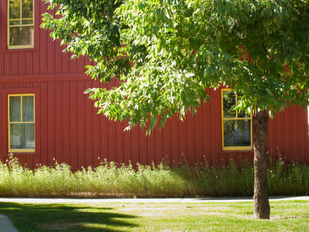 House in new urbanism development of Prospect project in Longmont, Colorado.