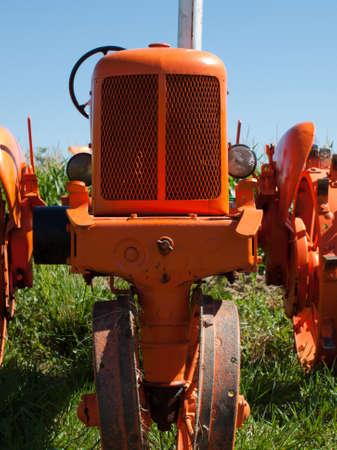 yesteryear: Antiguo equipo agr�cola en la pantalla en el Show de granja de anta�o en Longmont, Colorado. Editorial