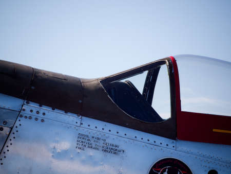 Vintage aircraft  at the Rocky Mountain Airshow in Broomfield, Colorado.