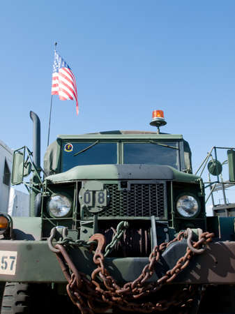 broomfield: Military vehicle at the Rocky Mountain Airshow in Broomfield, Colorado. Editorial
