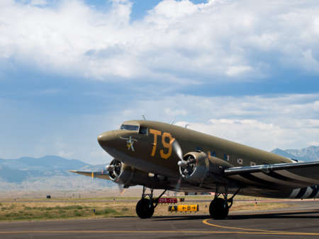 broomfield: Southern Cross C-47Douglas C-47 Skytrain  Dakota at the Rocky Mountain Airshow in Broomfield, Colorado.