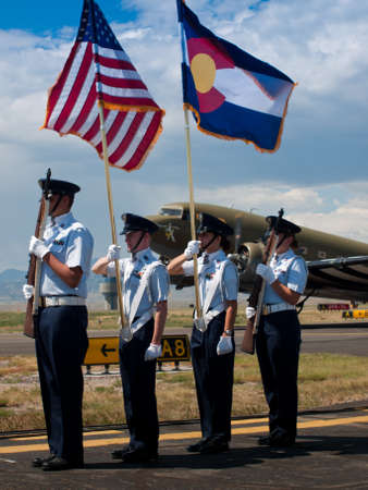 broomfield: Opening parade at the Rocky Mountain Airshow in Broomfield, Colorado.