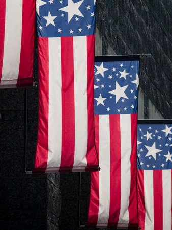 'mt rushmore': American flags at the Mt. Rushmore National Monument, South Dakota.