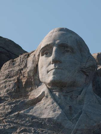 mount jefferson: Mt. Rushmore National Monument, South Dakota.