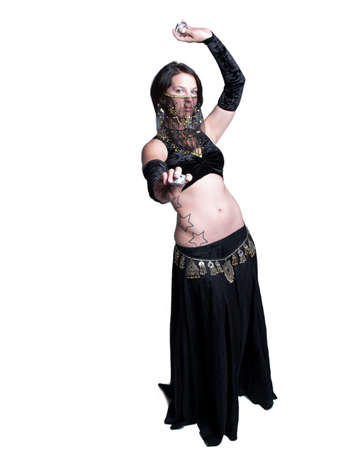 A woman performing as a belly dancer. Stock Photo - 10966019