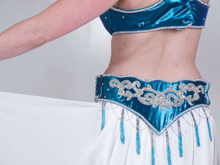 A woman performing as a belly dancer. Stock Photo - 10975904