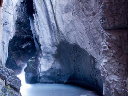 ouray: Box canyon near Ouray, Colorado.