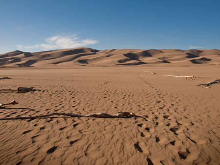 Before sunset at Great Sand Dunes National Park, Colorado. photo
