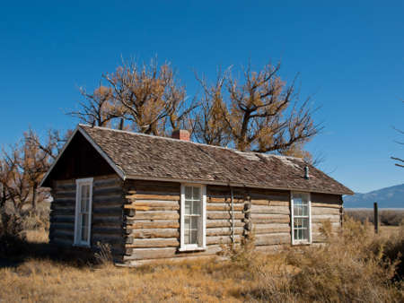 An abandoned structures on old Medano Ranch in Colorado. Stock Photo - 11100351