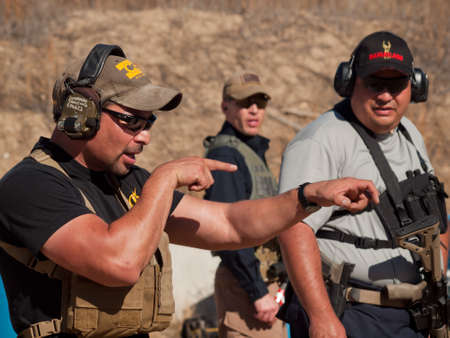 Tactical rifle training course. Course provided by Anthony Navarro from the Discovery Channel Show One Man Army.