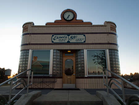Ethel's Beauty Salon and 88� Variety Store at the Lakewood Heritage Center, Colorado. Stock Photo - 11117065