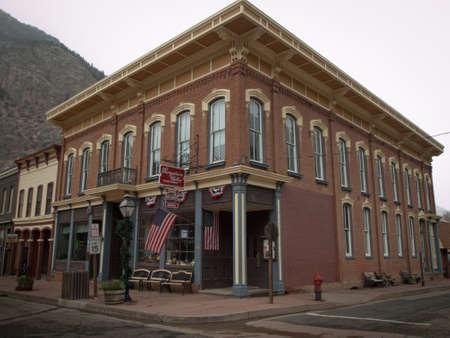 main street: Inverno sulla Main Street di Georgetown, Colorado.