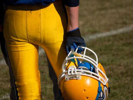 school football: High school football game Simla vs. Elbert at Simla, Colorado.