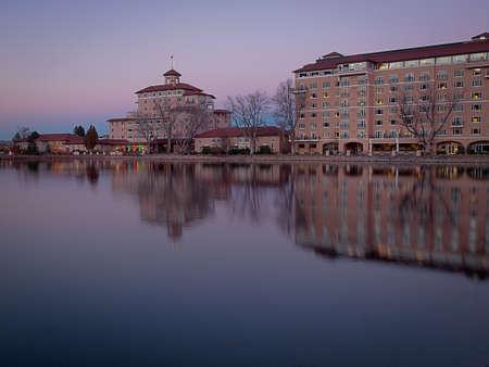White Lights 2011 ceremony. Historical Broadmoor Hotel in Colorado Springs, Colorado. Editorial