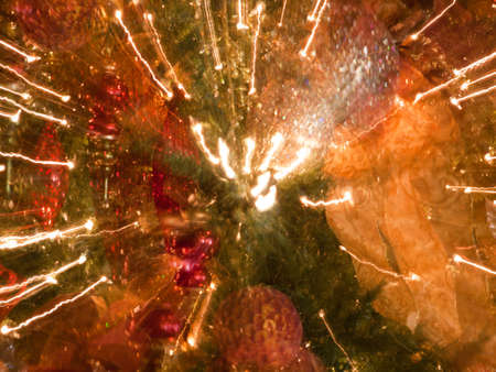 abstract christmas tree at broadmoor hotel colorado springs stock photo 11421822