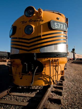 colorado railroad museum: Denver and Rio Grande Western no. 5771 passenger train between denver and Salt lake City from 1971 to 1983. Editorial
