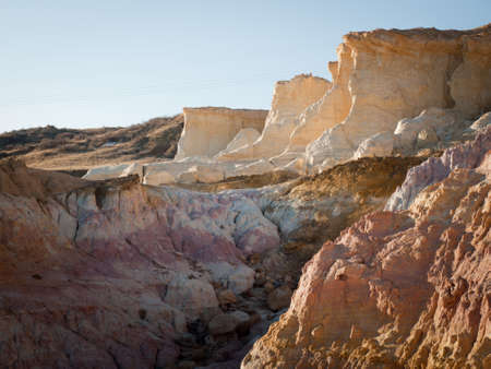 Paint Mines Interpretive Park near of the town of Calhan, Colorado. Stock Photo - 11421660