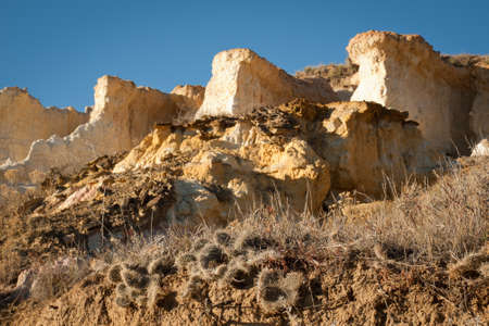 Paint Mines Interpretive Park near of the town of Calhan, Colorado. Stock Photo - 11421016