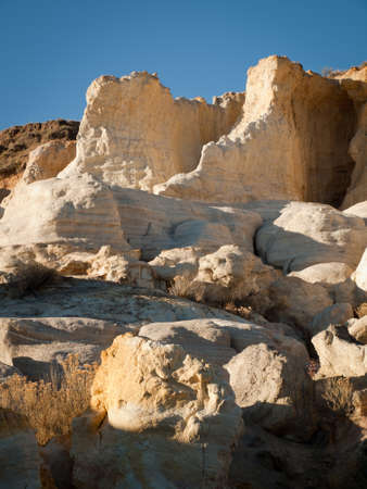 Paint Mines Interpretive Park near of the town of Calhan, Colorado. Stock Photo - 11421895