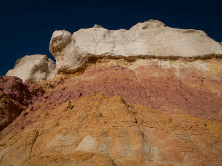 Paint Mines Interpretive Park near of the town of Calhan, Colorado. photo