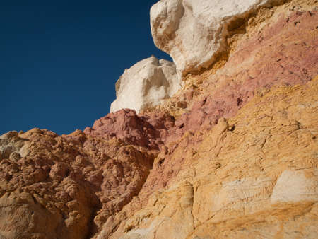 Paint Mines Interpretive Park near of the town of Calhan, Colorado. Stock Photo