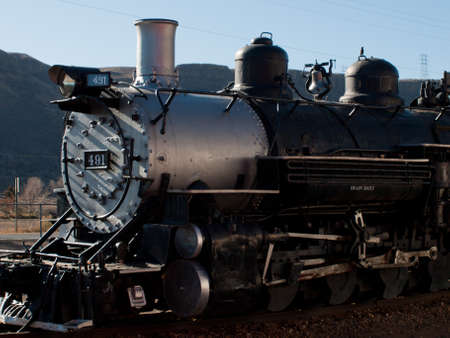 Denver & Rio Grande Western Railroad Steam locomotive No. 491.