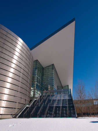 metal structure: Colorado Convention Center in Downtown Denver.