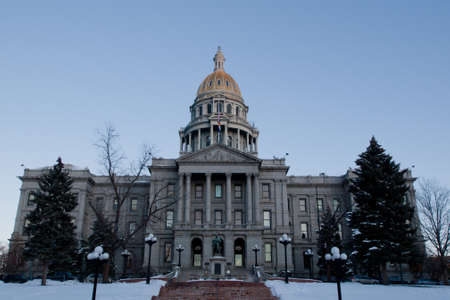 colfax: The state capitol building in Denver, Colorado.