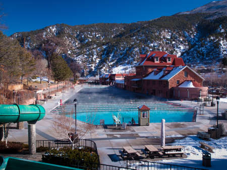 The largest outdoor mineral hot springs pool in the world.