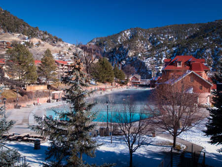 heated: The largest outdoor mineral hot springs pool in the world.