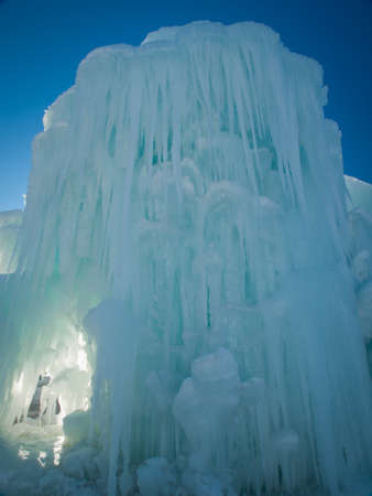 Ice Castles of Siverthorne, Colorado. Stock Photo - 11988207