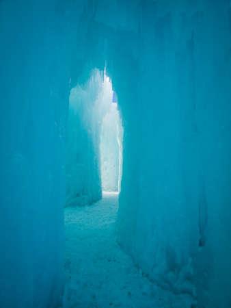 Ice Castles of Siverthorne, Colorado. Stock Photo - 11988191