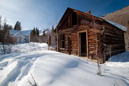 mining town: Abandon mining town of Ironton Park, Colorado.