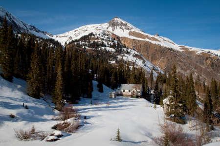 ouray: Abandon mining town near Ouray, Colorado. Stock Photo